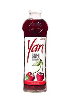 Компот вишневый YAN без консервантов 930мл.АРМЕНИЯ