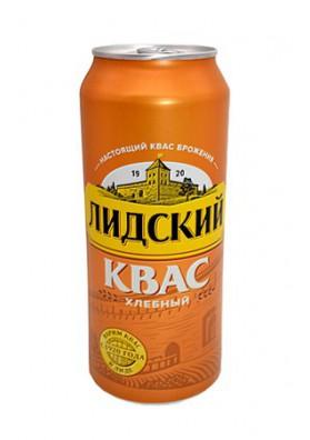 Квас хлебный ЛИДСКИЙ в жести 0,5л.SLCO