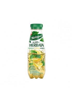 Напиток фруктовый ЧАЙ ЗЕЛЕНЫЙ ХОЛОДНЫЙ с лимоном и мятой 12x300мл.HERBAPOL