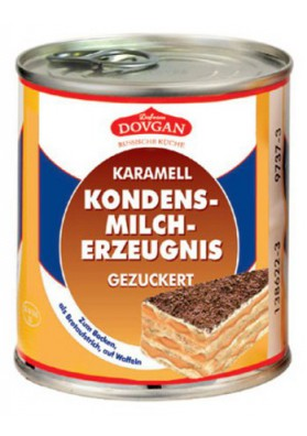 Leche condensada cocido 12x397gr DOVGAN