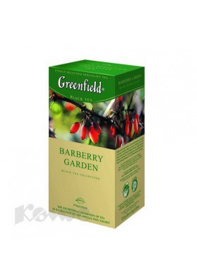 Te GREENFIELD  BARBERRY GARDEN  10x25x1.5gr