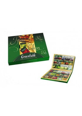 Colleccion de te GREENFIELD 30 sabores 8x213.2gr