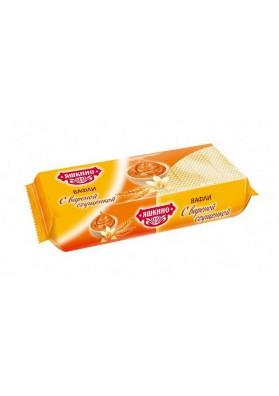 Barquillos sabor leche condensada 15x300gr.YASHKINO