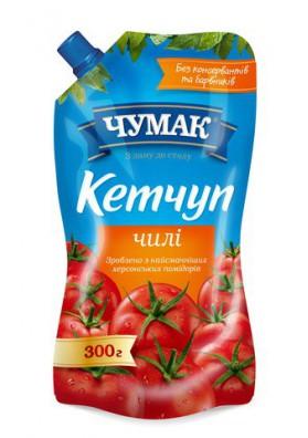 Ketchup  CHILI 40x300g CHUMAK