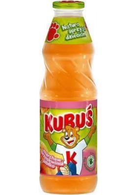 Zumo de zanahoria+melocoton+manzana 900ml KUBUS