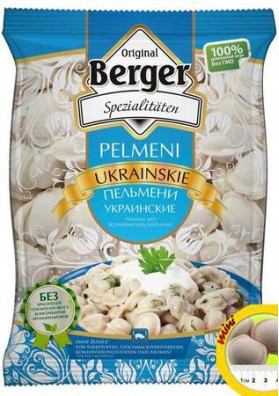 Pelmeni  UKRAINSKIE 900gr BERGER