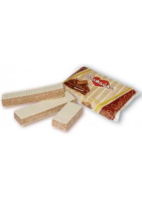 Вафли вкус шоколада 225гр ОБОЖАЙКА