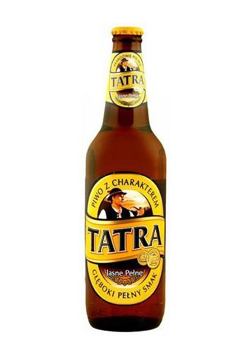 Cerveza  TATRA  20x0.5L 6%alc