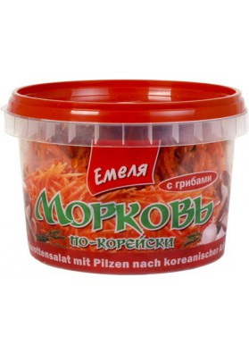 Ensalada de zanahoria coreana con setas 12x400gr EMELYA