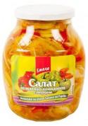 Ensalada de tomate verde y pimiento dulce 12x840gr EMELYA