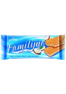 Barquillos sabor coco 180gr FAMILY