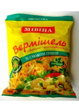 Sopa de tallarines con champiñones 50gr MIVINA