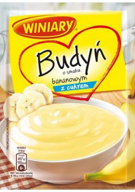 Budin sabor platano con azucar 30x60gr WINIARY