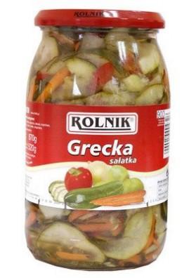 Ensalada de pepinos  GRECKA 900ml x6  ROLNIK