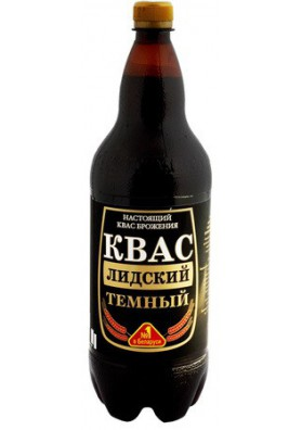 Refresco fermentado de pan KVAS LIDSKIY OSCURO 6x1.5L