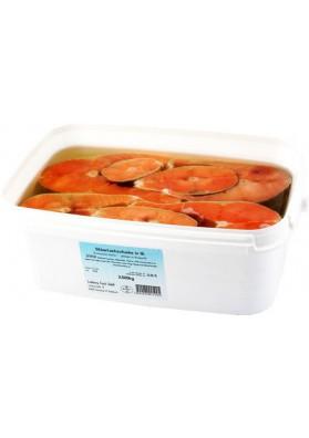 Trozos de salmon coho en aceite 2.5kg LEMBERG