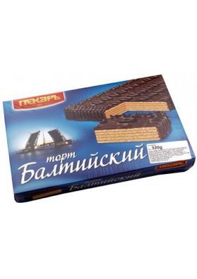 Tarta de barquillo en chocolate  Baltiyskiy 320gr