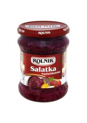 Ensalada de verduras  NADWISLANSKA 6x450gr ROLNIK