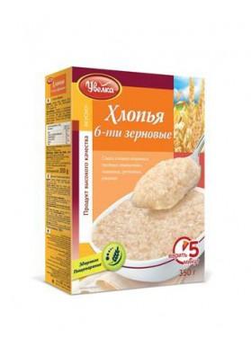 Copos de 6 cereales 14x350gr.UVELKA