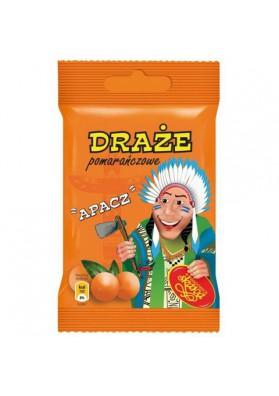 Bombones sabor naranja  DRAZE APACZ 20x70gr SKAWA