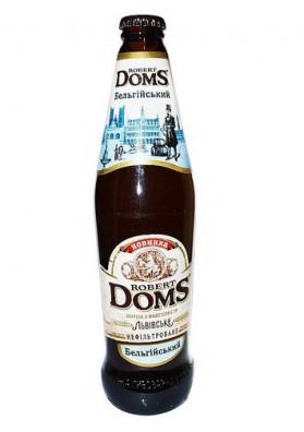 Cerveza Robert Doms BELGICA 4.3%alc. 24x0,5L.