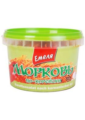 Ensalada de zanahoria coreana 12x350gr.EMELYA