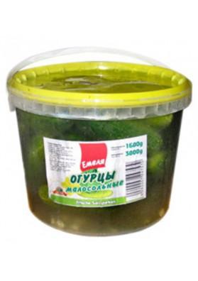 Pepinos poco salados 3L.(1300gr.) EMELYA