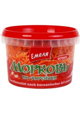 Ensalada de zanahoria coreana picante 12x350gr.EMELYA