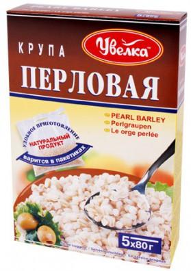 Cebada perlada en paquete 5x80gr.UVELKA