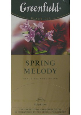 Te GREENFIELD  Spring Melody 25x1.5gr