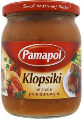 Albondigas en salsa de tomate KLOPSIKI 8x500gr.PAMAPOL