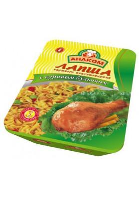 Tallarines en tasa con caldo de pollo 24x75gr ANAKOM