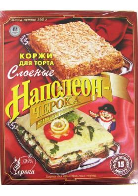 Torta seca para tarta Napoleon 12x360gr CHEROKA