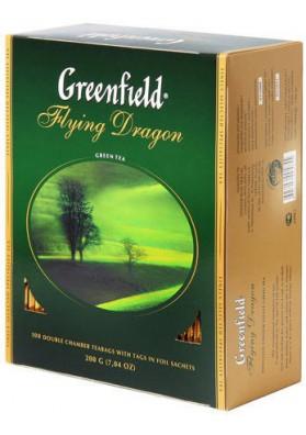 Te verde GREENFIELDFLYING DRAGON 9x100x2gr