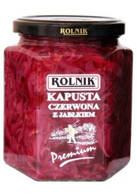 Ensalada de col rojo con manzana 6x540gr ROLNIK