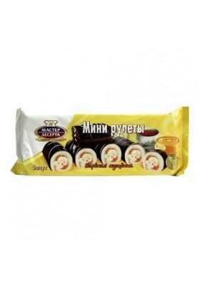 Mini rollitos de galletas con crema de leche condensada 5x35grMASTER DESERTA