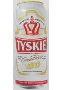 Cerveza TYSKIE 24x0.5L.5.5%alc.lata