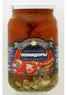 Tomate concervado  PO-KUBANSKI  12x900gr TR