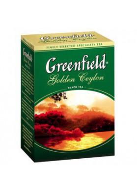 Te GREENFIELD GOLDEN CEYLON 200gr