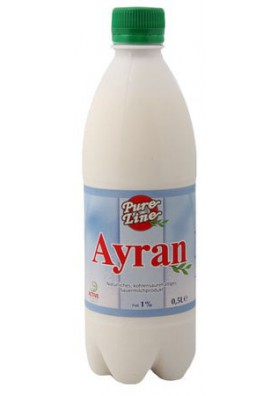 Yogurt AYRAN 1%grasa 0.5L TAN