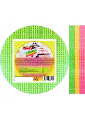 Вафельные листы трёхцветные 90гр PEKAR