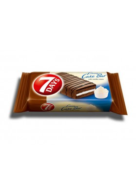 Bizcocho en chocolate con crema de vanilla 16x32gr 7DAYS