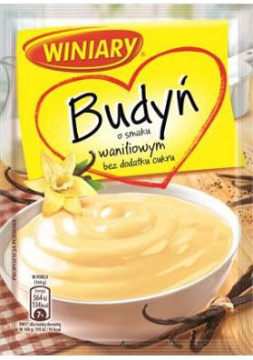 Budin sabor vanilla sin azucar 30x35gr WINIARY