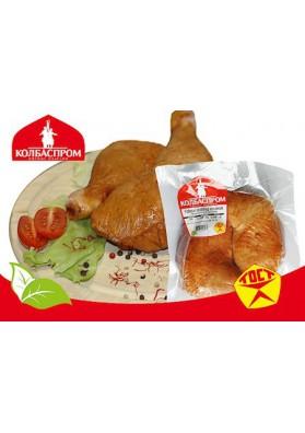 KP Muslos de pollo ahumado de peso