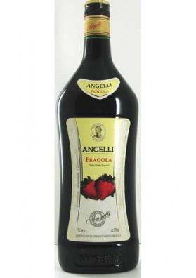 Licor sabor fresa ANGELLI 6x1L.16%alc.ROMANIA