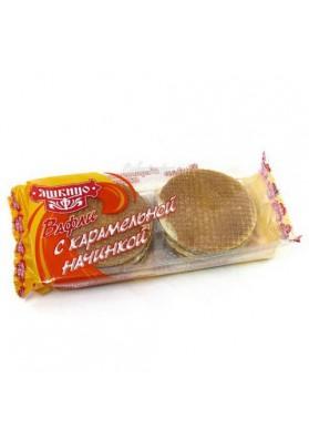 BarquillosHolandes sabor caramelo 15x290gr JASHKINO