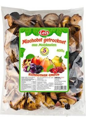 Surtido de frutas secos para compota de 5 ingredientes 400gr LEIS
