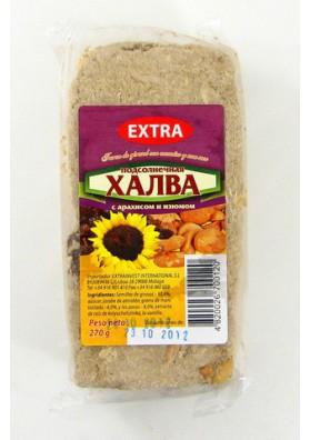Turon de pipas de girasol con pasas de uva y cacahuete 20x270gr  EXTRA