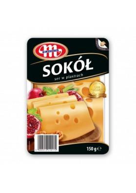 Queso cortado SOKOL 150gr MLEKOVITA