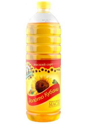Aceite de girasol ZOLOTO KUBANI 15x1L.KUBANOCHKA